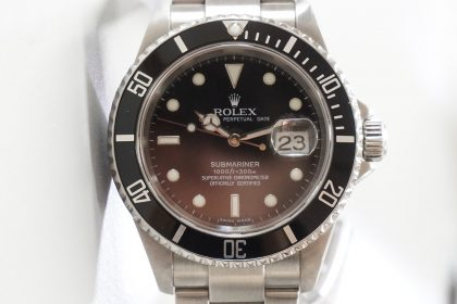 revizie rolex submariner