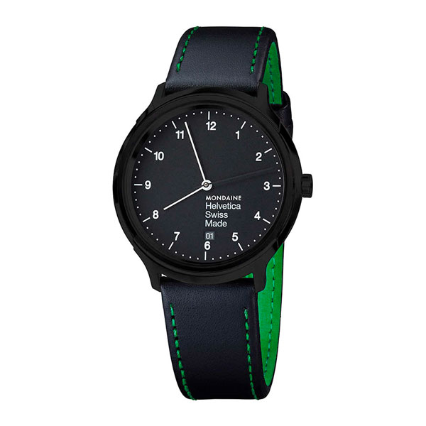 Ceas Mondaine Helvetica No1 New York Edition Green – MH1.R2221.LB